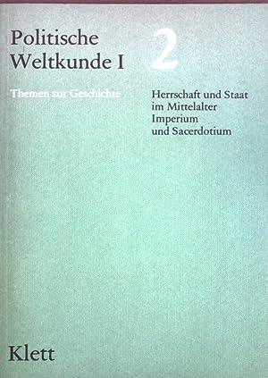 Herrschaft und Staat im Mittelalter, Imperium und: Forster, Hans, Arnulf