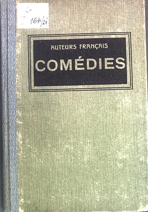 Comédies par Molière, Brueys, Marivaux, Picard, Musset;: Wershoven, F.J. [Hrsg.]: