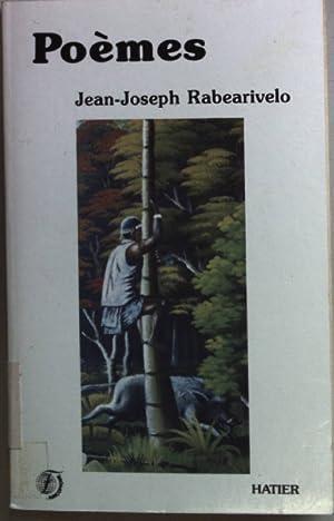 Poèmes.: Rabearivelo, Jean-Joseph: