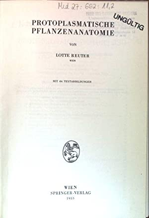 Handbuch Der Pflanzenanatomie - AbeBooks