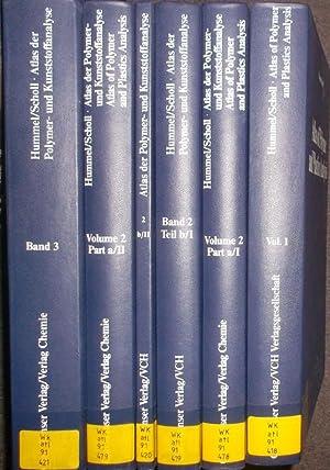 Atlas of Polymer and Plastics Analysis/ Atlas der Polymer- und Kunststoffanalyse (3 vols.cpl./ 3 ...