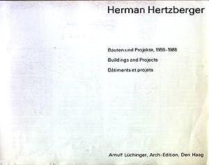 Herman Hertzberger : Bauten und Projekte, 1959: Hertzberger, Herman (Ill.)