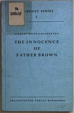 The Innocence of Father Brown.: Chesterton, Gilbert K.: