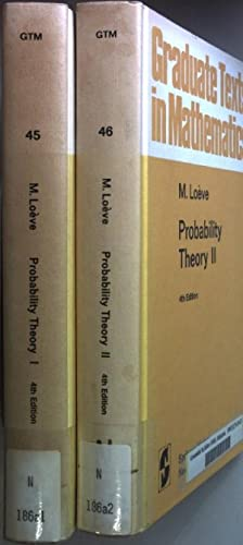 Probality Theory (2 vols.cpl./ 2 Bände KOMPLETT): Loeve, M.: