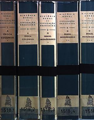 Historia Geral Da Civilizacao Brasileira (5 tomos/: Holanda, Sergio Buarque
