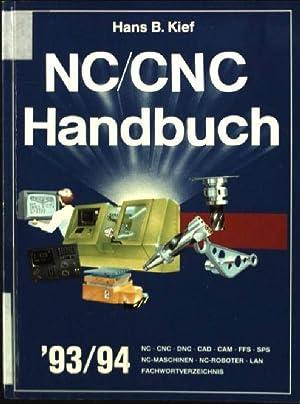 NC / CNC Handbuch '93/94: Kief, Hans B.: