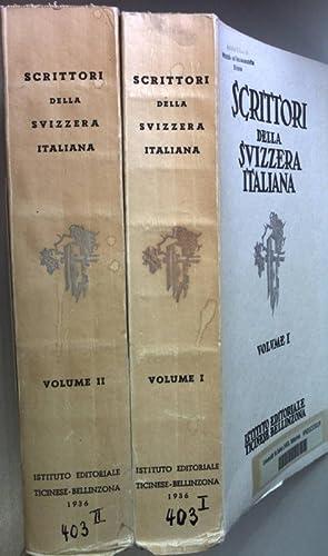 Scrittori della Svizzera italiana: studi critici e