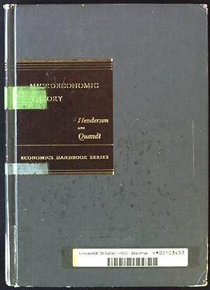 Microeconomic Theory: A Mathematical Approach Economics Handbooks: Henderson, James M.