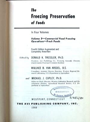 freezing preservation foods - AbeBooks