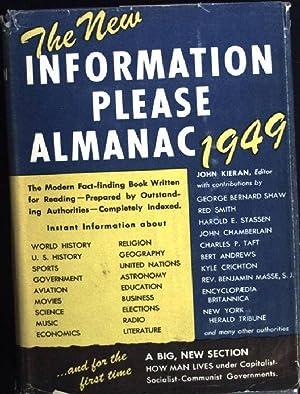 Information Please Almanac 1949: Kieran, John: