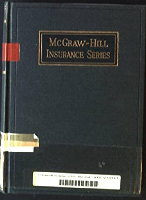 Marine Insurance, Its Principles and Practice: Winter, Willam D.: