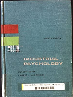 Industrial Psychology: Tiffin, Joseph and
