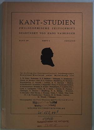 Husserl und die europäische Krise: in Kant-Studien: Lübbe, H.: