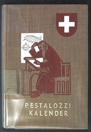 Pestalozzi Kalender - Schweizer Schüler-Kalender 1952;
