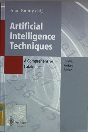 Artificial Intelligence Techniques: A Comprehensive Catalogue.: Bundy, Alan: