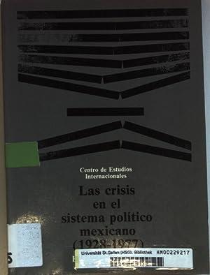 Las crisis en el sistema politico mexicano