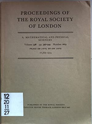 Proceedings of the Royal Society of London: