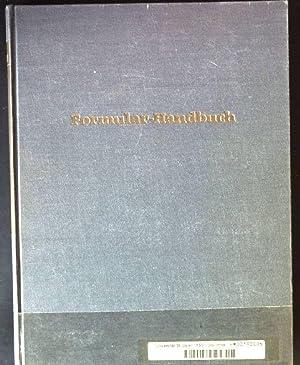 Formular- Handbuch für die Kaufmännische Verwaltung: Joschke, Heinz K.: