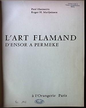 L'Art Flamand d'Ensor A Permeke: Haesaerts, Paul und