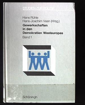 Gewerkschaften in den Demokratien Westeuropas; Bd. 1.,: Jäger, Wolfgang, Hans