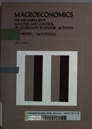 Macroeconomics: The Measurement Analysis, and Control of: Dernburg, Thomas F.