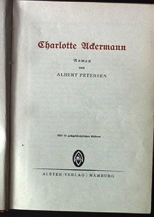 Charlotte Ackermann: Petersen, Albert: