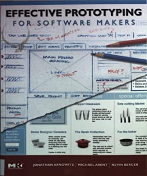 Effective Prototyping for Software Makers.: Arnowitz, Jonathan, Michael