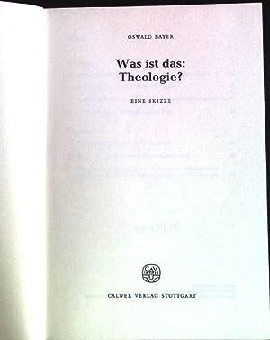 bayer oswald - theologie - AbeBooks