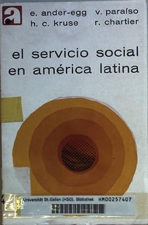 El servicio social en America Latina: Ensayos.: Ander-Egg, Ezequiel, Virginia