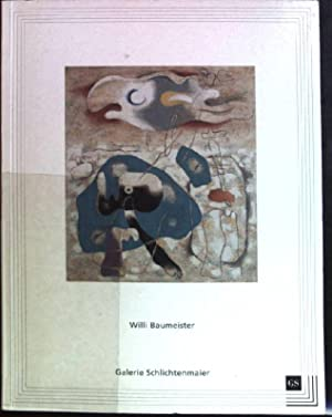 Willi Baumeister: Arbeiten von 1914-1955. 22. Oktober: Baumeister, Willi (Illustrator)