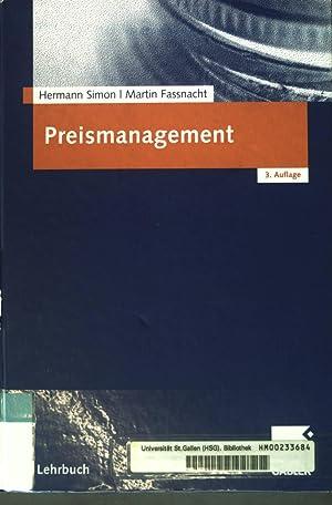Preismanagement : Strategie - Analyse - Entscheidung: Simon, Hermann und