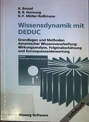 Expertensystemshell DEDUC/Wissensdynamik mit DEDUC: Software zur Unterstützung: Hornung, Bernd R.