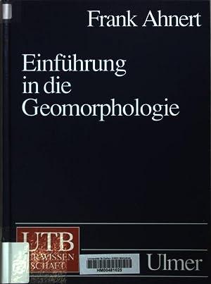 einfuhrung in die geomorphologie