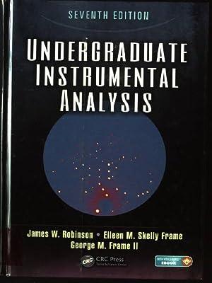 Undergraduate Instrumental Analysis: Robinson, James W.,