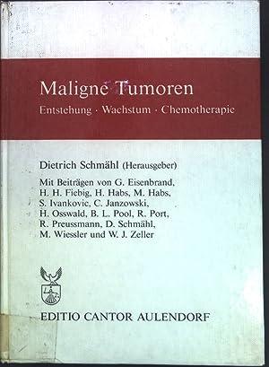 Medizin Bücher Wachstum Und Chemotherapie Maligner Tumoren Arzneimittel-forschung, Entstehung