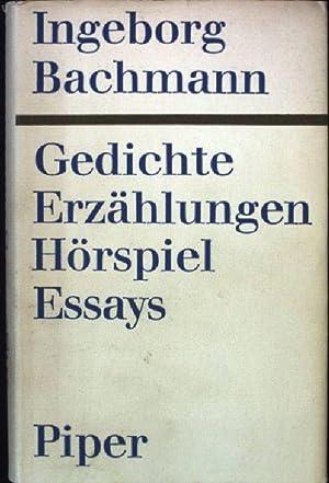 Ingeborg Bachmann Abebooks