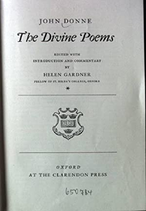 The Divine Poems.