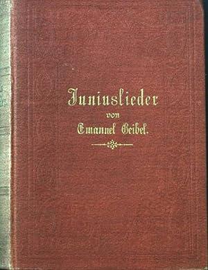 Gedichte Von Emanuel Geibel Abebooks