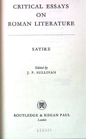 Roman Satire Abebooks