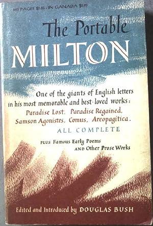The Portable Milton: Bush, Douglas: