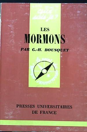 Les Mormons.: Bousquet, G.H.: