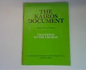 The Kairos document - challenge to the: Skotaville Publihers (Hrsg:):