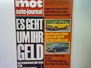 Test: Fiat 132 GL/GLS. - in: 6.Heft: Simsa, O. und