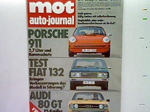 Test: Fiat 132 S/1800. - in: 17.Heft: Simsa, P. und