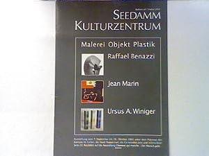 Malerei Objekt Plastik. Raffael Benazzi, Jean Marin,
