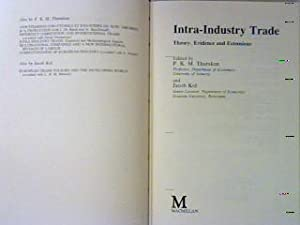 Intra-industry Trade : Theory, Evidence and Extensions.: Tharakan, P.K.M. (Editor)