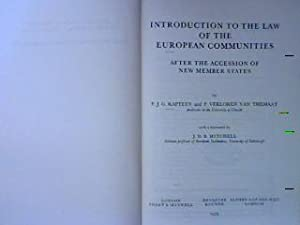 Introduction to the Law of the European: Kapteyn, Paul J.G.