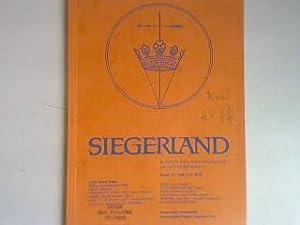 Die Steinzeit im Siegerland : Erkenntnisse, Schlüsse, Betrachtungen. - in : Bd. 52 - Heft 3/4 - ...