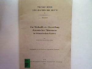 Zur Methodik der Darstellung dynamischer Phänomene in: Werner-Francisco Bär: