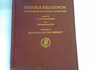 Historia Religionum: Handbook for the history of: Bleeker, Jouco and